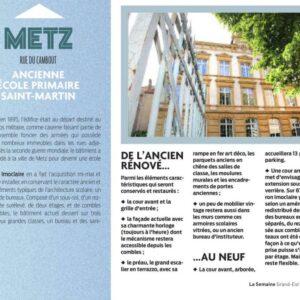 La Semaine 29.06.17 19 Rue du Cambout METZ